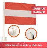Calor relativo à promoção que transfere a bandeira de anúncio nacional do carro
