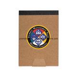 Cuaderno espiral promocional del Hardcover con insignia modificada para requisitos particulares