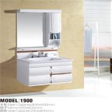 PVC moderno Bathroom Vanity di Type Wall Mounted con Side Cabinet