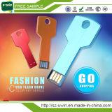 USB relativo à promoção feito sob encomenda colorido da chave