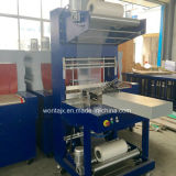 Wd-250A PE Shrink Film Wrapping Machine van semi-Auto voor Mineraalwater