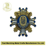 旧式なBrass Plated 3D Badge