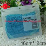 2016 tissus/chaussettes estampées personnalisées/sacs rescellables en plastique zip-lock de sous-vêtements pour