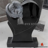 Wing Carving를 가진 화강암 Baby Monument/Infant Headstone