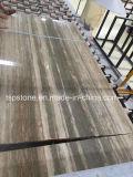Lajes de prata italianas do mármore do Travertine para o projeto