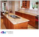 Granito y mármol en encimera de la cocina de la piedra de la venta