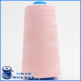 Linha 60s/3 Sewing Overhand girada de preço de fábrica núcleo poli