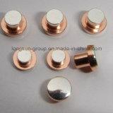 Punta de contacto eléctrica de la plata esterlina para los cortacircuítos y los relais