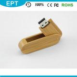 1GB, 2GB, 4GB, 8GB, 16GB, 32GB a personnalisé la mémoire en bois de flash USB de clé de mémoire USB de logo (EW016)