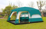Mit zwei Schlafzimmern im Freien kampierendes Zelt, wasserdichtes grosses Gemeinschaftszelt