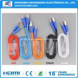Cable micro del USB del LED con diseño sonriente ligero del LED