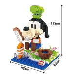 Minie Mouse Cartoon Bâtiment en plastique Nano Blocks (10263793)