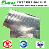 Barreira tecida revestida lateral dobro da telhadura da tela da folha de alumínio/vapor do duto/isolação resistência térmica