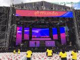 Cortina a todo color al aire libre de P10.416 LED para la etapa/el concierto/la exposición/la demostración