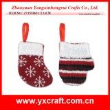 Fuentes del arte de la Navidad de la venta al por mayor de la percha del árbol de navidad de la decoración de la Navidad (ZY11S374-4-5-6)