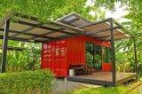 Het pre-gebouwde of PrefabHuis van de Verschepende Container van de Structuur van het Staal van het Metaal Modulaire