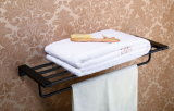 Accessori d'ottone antichi della stanza da bagno della mensola del tovagliolo della cremagliera di tovagliolo della stanza da bagno di rifinitura del globo