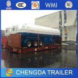 El tanque del árbol 48cbm LPG del acoplado 3 del tanque del carro del precio de fábrica