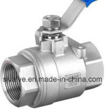 2PC Ball Valve Ss304 Ss316 Wcb