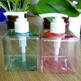 Bottiglia di plastica personalizzata dell'estetica della bottiglia della bottiglia quadrata 250ml