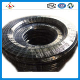 Tubo flessibile di gomma ad alta pressione Braided dell'olio di R2/2sn