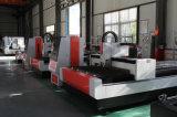 Machine de découpage de laser de fibre pour la plaque en acier de découpage, de plaque métallique, tôle