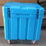 Casella portatile del dispositivo di raffreddamento dell'alimento isolata casella del dispositivo di raffreddamento di rotolamento della puleggia