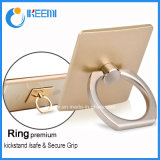 Ein 360 Grad-Handy-Ring Stent späteste Goldfinger-Ring-Entwürfe, intelligenten Ring-Halter drehen für iPhone