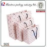 Il sacchetto di acquisto di carta ha ricoperto l'elemento portante di carta di arte il sacchetto dell'imballaggio che della stampa per i vestiti Vestito-Veste i pattini cosmetici del profumo di Sleepcoat della biancheria intima (a104)