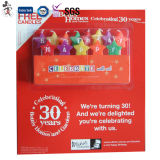Fantastisches Set Happy Birthday Candle für Cake