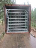 сверхмощное гальванизированное овальное поголовье скотного двора 1.8X2.1 Corral панель