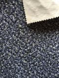 Velluto di lavoro a maglia stampato poliestere con stile di goffratura (PR042)