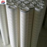 Conjunto elevado da filtragem da carcaça de filtro do cartucho do fluxo