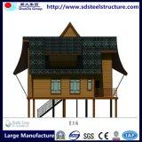 Villa van het Staal van het Huis van lage Kosten de Prefab Lichte voor Verkoop