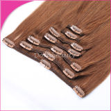Remy 100% Hair Extensions Clips in Hair