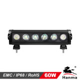 熱い販売! ! 新しいLight Bar、Single Row Light Bar、Waterproof IP67、High Power、ATV、4WD、SUVのためのSingle Row Offroad Driving LED Light Bar