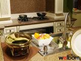 Welbomの優雅で贅沢なアメリカのカシ木は食器棚をカスタマイズする
