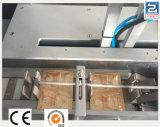Linha de produção automática cheia da embalagem do malote com máquina de encadernação