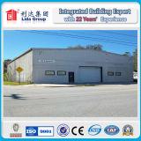 Disegno chiaro prefabbricato della costruzione del magazzino del gruppo di lavoro della struttura d'acciaio