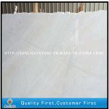 Marbres blancs de neige bon marché de la Chine pour les brames et la partie supérieure du comptoir de cuisine