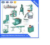 Macchina per la rigenerazione di pneumatici del pneumatico di certificazione di iso/strumentazione di ricostruzione della gomma