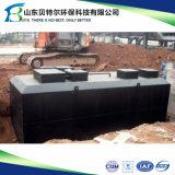 installation de traitement résidentielle des eaux d'égout 100m3/Day, utilisée dans les hôtels, restaurant