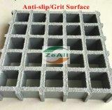 Reja moldeada FRP para el suelo de la construcción