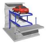 Het parkeren van Lift in Kuil voor Twee Auto's
