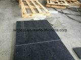 Mattonelle nere del rivestimento della parete delle mattonelle fare un passo della scala delle mattonelle di pavimento del granito G654