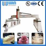 Gravura da estaca que cinzela o preço de madeira combinado da máquina do CNC do router Wwf2560