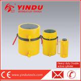 Возвращения масла двойника 500 тонн цилиндр действующий быстро гидровлический (RR-500200)