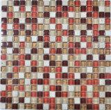 Mosaico di vetro della pietra della miscela per la decorazione della parete della cucina