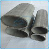 Tubo ovale dell'acciaio inossidabile per l'inferriata