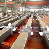 Construcción de acero prefabricada de la instalación fácil